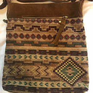 Lucky Brand Bags - Lucky brand tribal printed purse